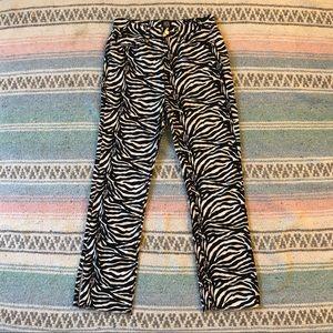 BDG Zebra Jeans